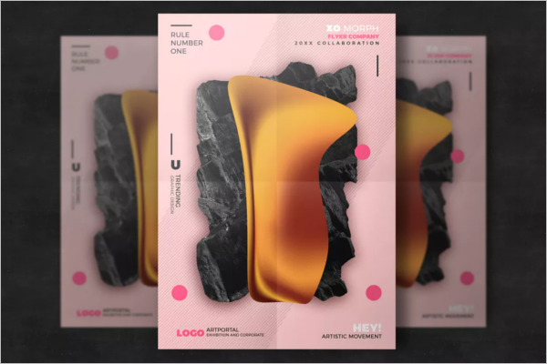Abstract Design Poster Template