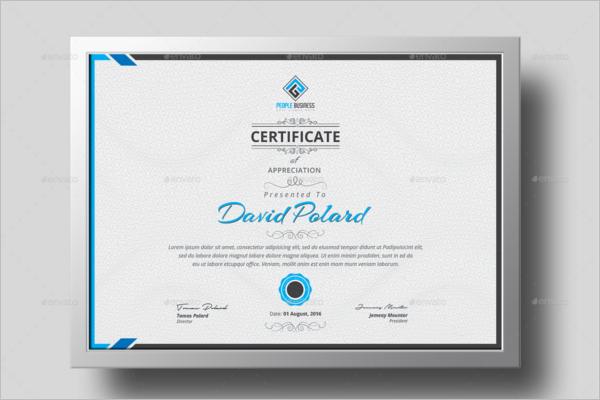 Acknowledgement Of Training Certificate