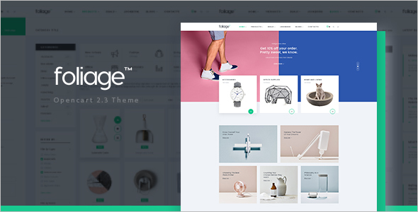 Advanced Opencart theme for Furniture