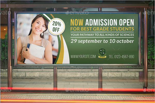 Advertisement Education Flyer