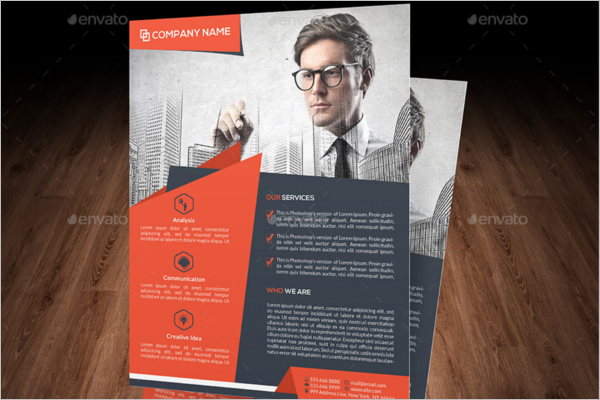 Advertising Business Flyer Template