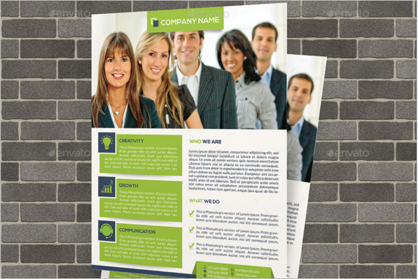 Advertising Business Flyer Template 1