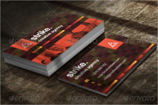 Agency Small Business Card Template