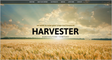 Agriculture OpenCart Theme