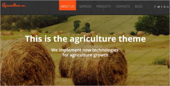 Agriculture Zen Cart Theme