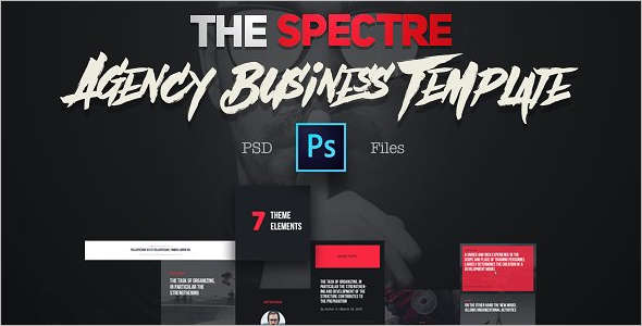Ahency PSD Sketch Template