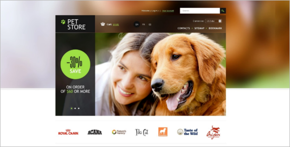 Animals&Pets Pet Store PrestaShop Theme