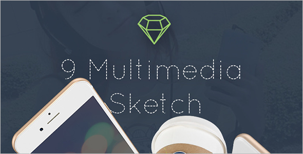 App-Sketch-PSD-Template