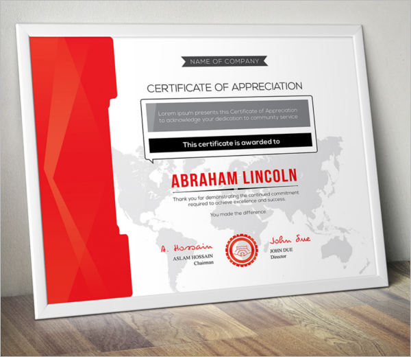 Free printable certificate templates free templates creative appreciation certificate template yadclub Choice Image