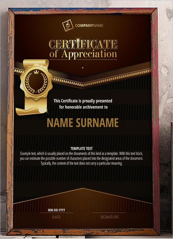 30 Training Certificate Templates Free Word Pdf Ppt Samples Designs