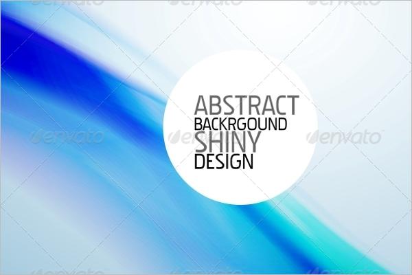 Art Blue Wave Background