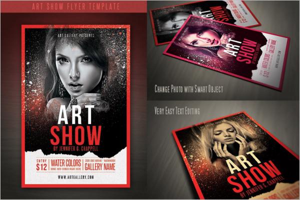 Art Gallery Flyer Design