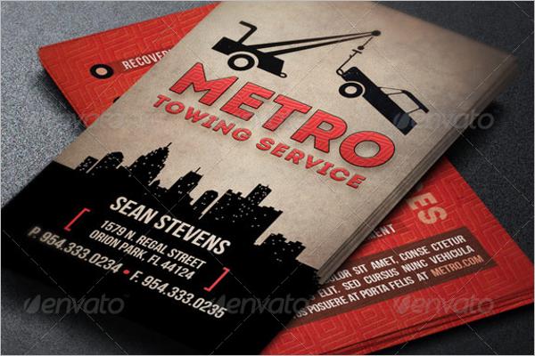 Automotive Handyman Business Card