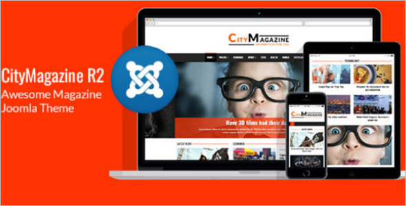 Awesome Magazine Joomla Theme