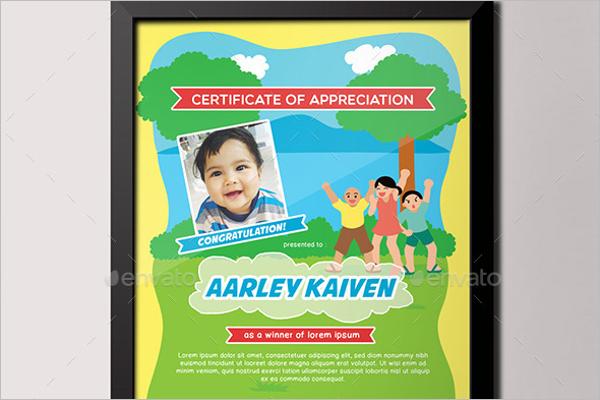 Babies Certificate