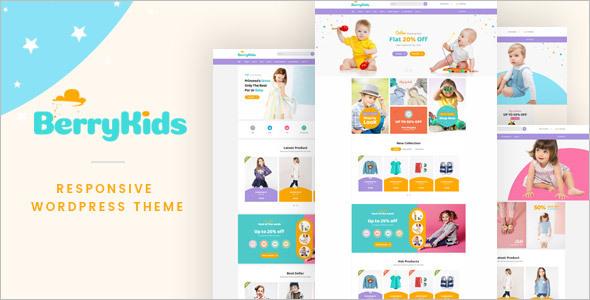 Baby Store WooCommerce theme