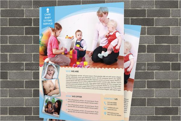 babysitter flyer examples