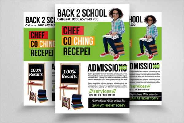 Back To School Design Poster