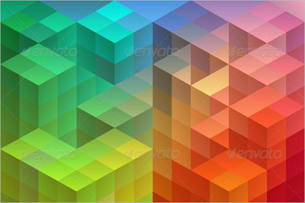 Backdrop Geometric Pattern