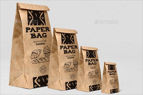Bakery Design Paper Bag