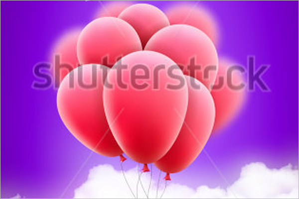 Balloon Poster Design