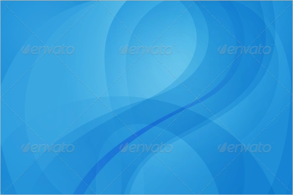 Banner Blue Wave Background