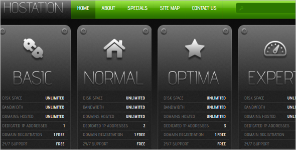 Basic Hosting OpenCart Theme