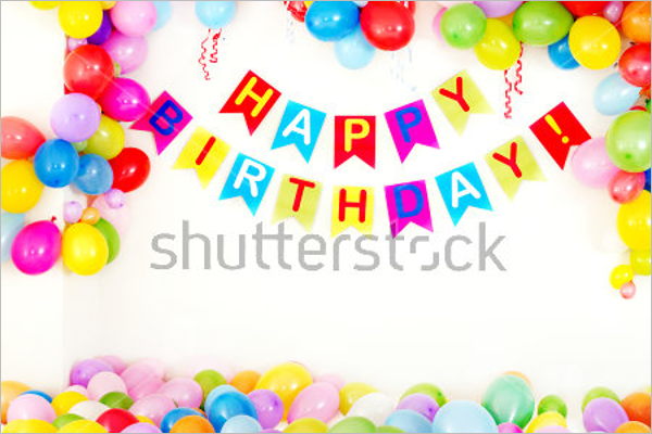 Beautiful Birthday Poster Template