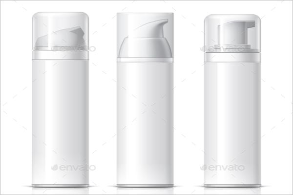 Beauty Background Bottles Design