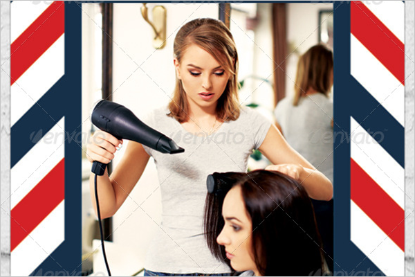 Beauty Barber Shop Flyer