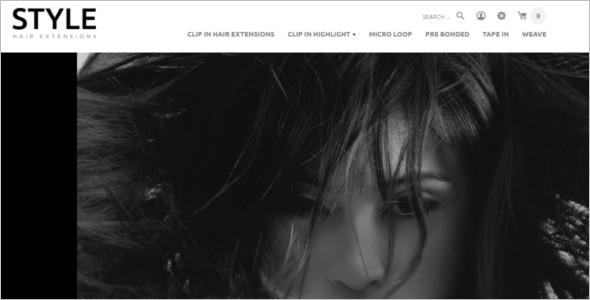 Beauty Salon OpenCart Template