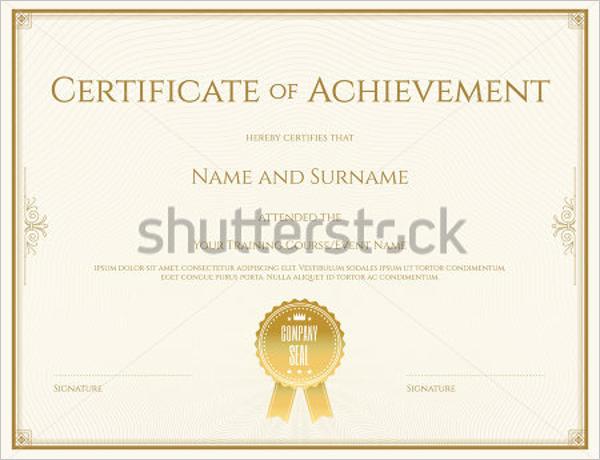Behaviour Certificate Template