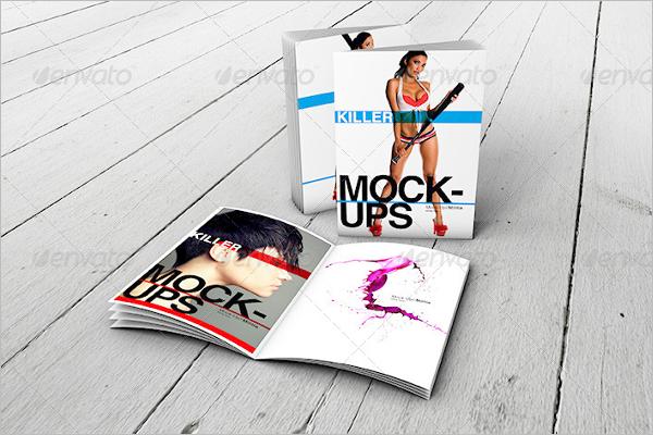 Best A4 Brochure Mock Up Template