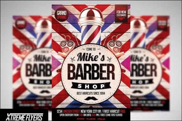 Best Barber Shop Flyer Design