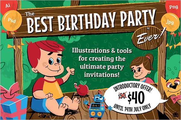 Best Birthday Poster Design