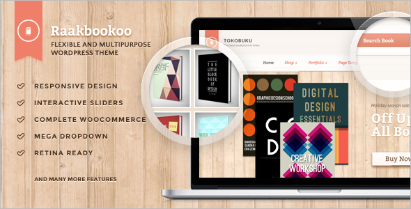 Best Book Store Woocommerce Theme