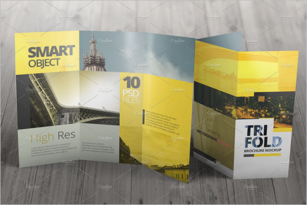 Best Brochure Mockup PSD