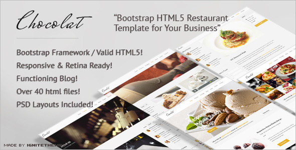 Best Food & Hospitality WordPress Template
