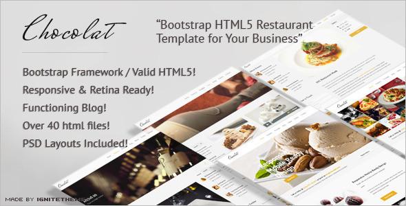 Best Food & Hospitality WordPress Template