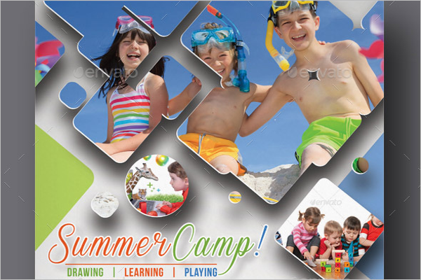 Best Summer Camp Flyer Design