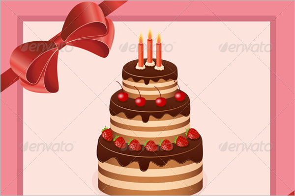 Best Wishes Greeting Card PSD