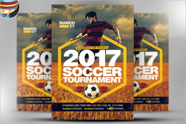 Big Game Psd Flyer Template