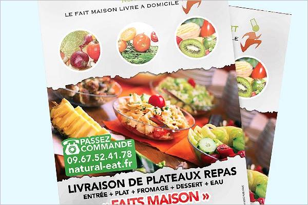 Bio Food Catering Flyer Design