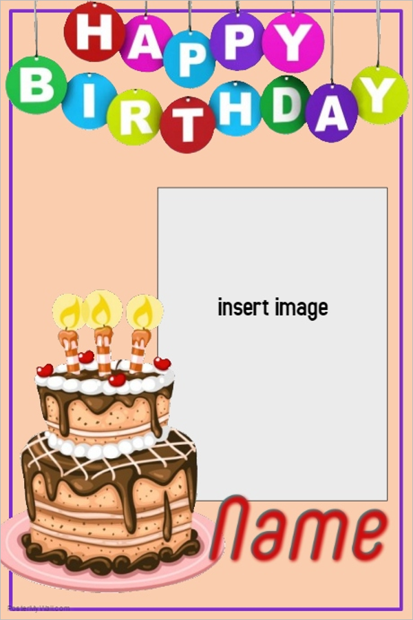 Birthday Poster For Friend