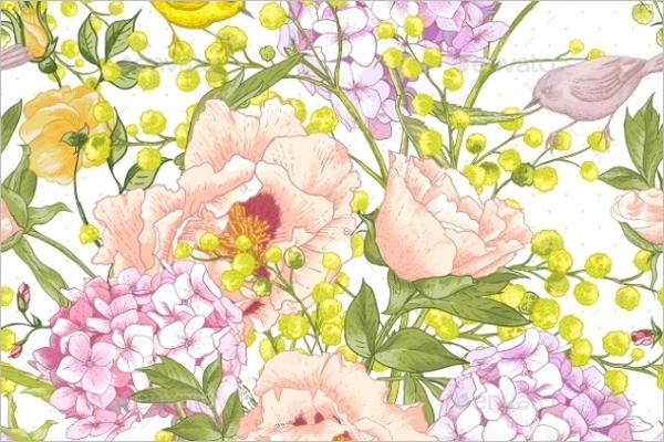 Blossom Mimosa Pattern