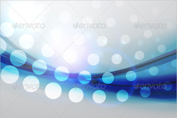 Blue Dotted Background