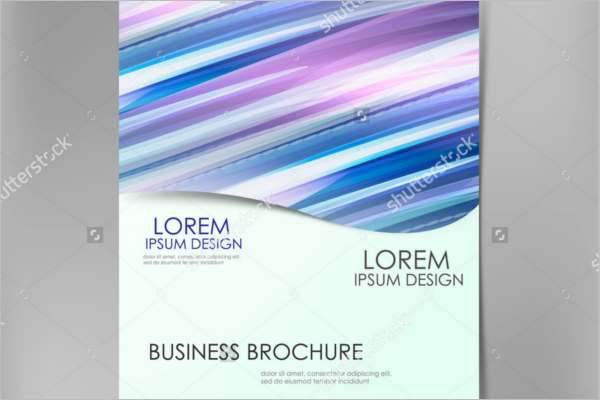 Blue Wave Brochure Template