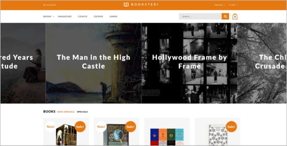 Book Store Responsive OpenCart Theme