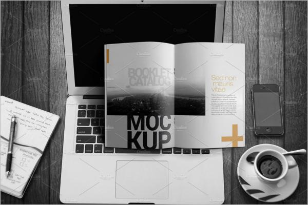 Booklet Brochure Mockup Design