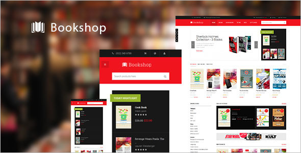 Bookshop Security Magento Template